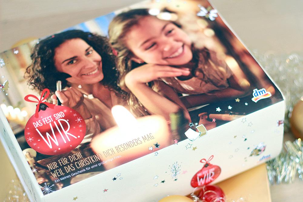 dm Weihnachtsbox - 2015 Natürliche Verwöhnmomente - Umverpackung