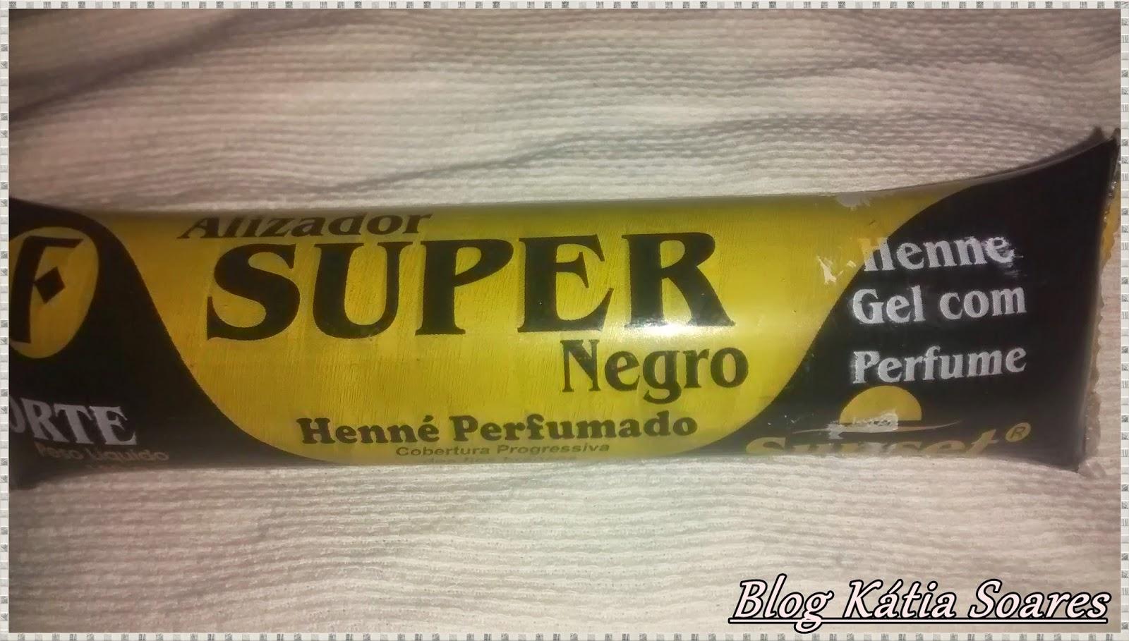 alisador super negro forte