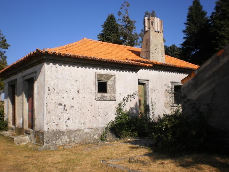 Casa florestal na Serra da Freita