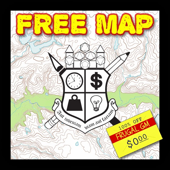 Free Map 018: Stippled Out Cave