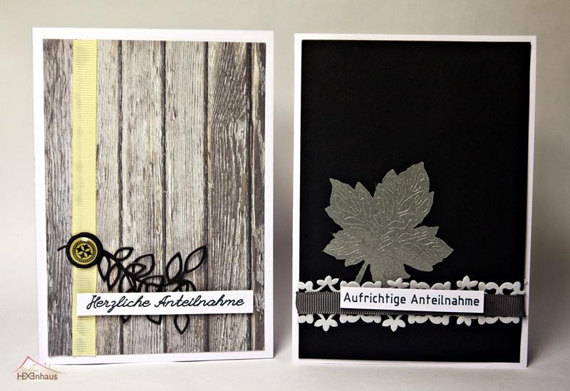 steffies hexenhaus trauerkarten. Black Bedroom Furniture Sets. Home Design Ideas
