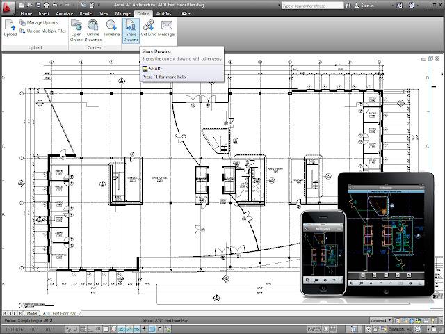 Architecture Autocad3