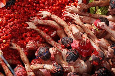 La tomatina, Valencia