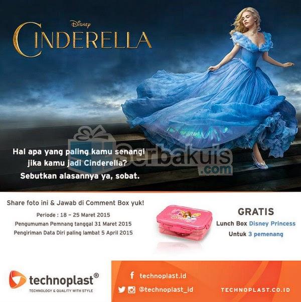 Kuis Cinderella Berhadiah 3 Lunch Box dari Technoplast