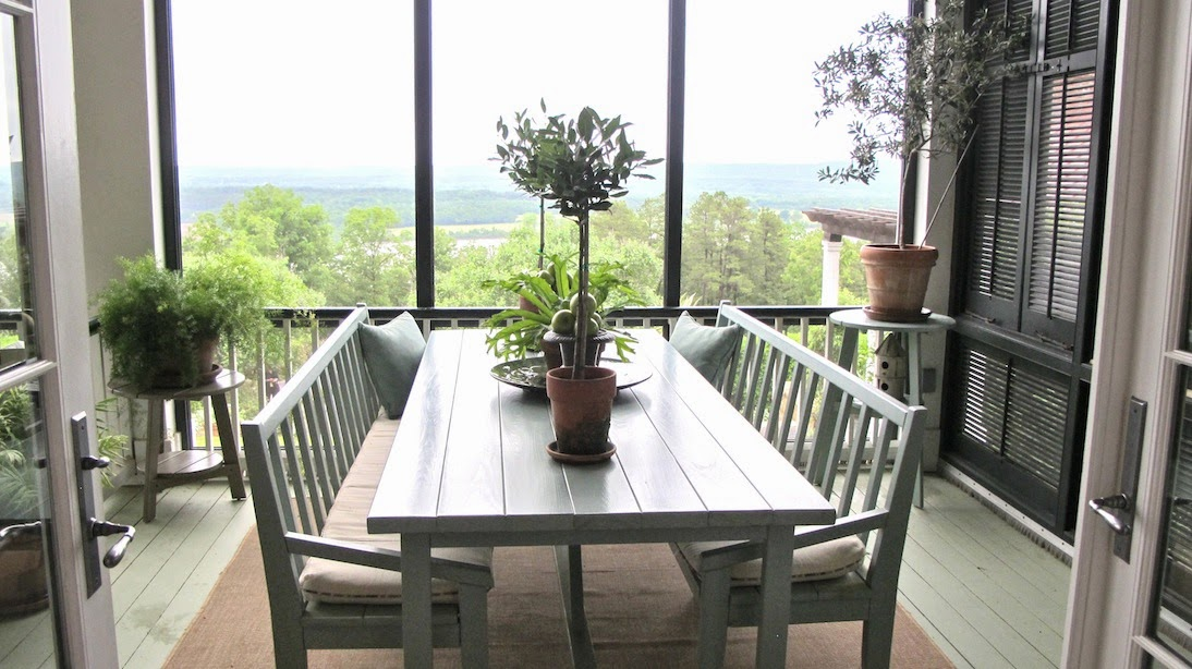 P Allen Smith Moss Mountain Garden Home kitchen shot back porch 1(c)nwafoodie