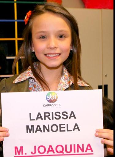 ... atriz está na novela Carrossel do Sbt, que estreia dia 21 às 20:30
