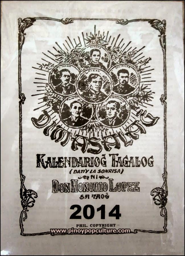 almanacs, Dimasalang: Kalendariong Tagalog, Dimasalang, La Sonrisa, Honorio Lopez