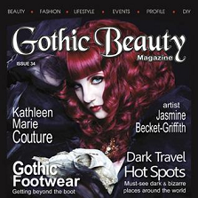 OPUS OILS IS FEATURED IN GOTHIC BEAUTY MAGAZINE ~Issue #34