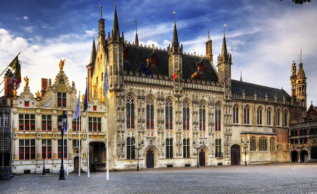 Брюгге, Бельгия фото