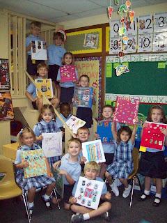 Montgomery Catholic Kindergarten Family Treasures Project 1
