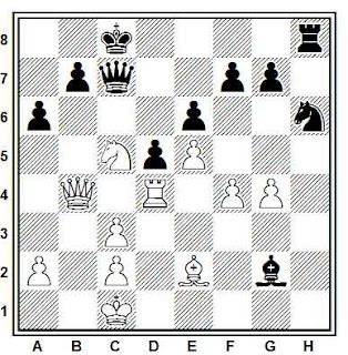 Posición de la partida de ajedrez Galdunts - Metz (Wildbad, 1991)