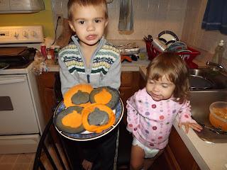 pumpkin pancakes for halloween