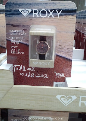 Accessorize with the Roxy Royal Ladies Rosegold Tone Pave Dial Watch