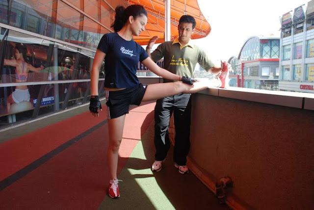 Kangana Ranaut Gym