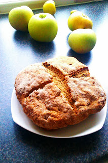 Soda bread from Houghton Mill flour