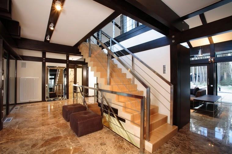 modern interior stairs