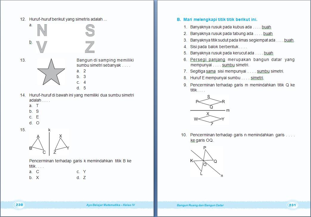 Kelas 4 SD -- dan Glosari Matematika Kelas 4 SD ~ Arrayhan e-Learning