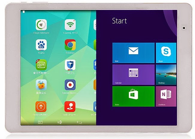 Teclast X98 Air II Dual Os Tablet With Android 4.4 & Windows 8.1 Single Switching.