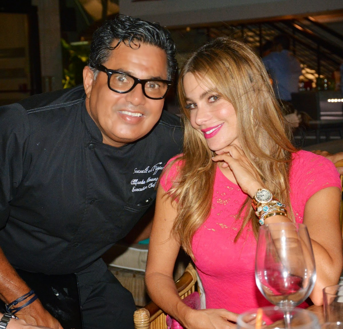 Sofia Vergara and Joe Manganiello Dine Out in Miami
