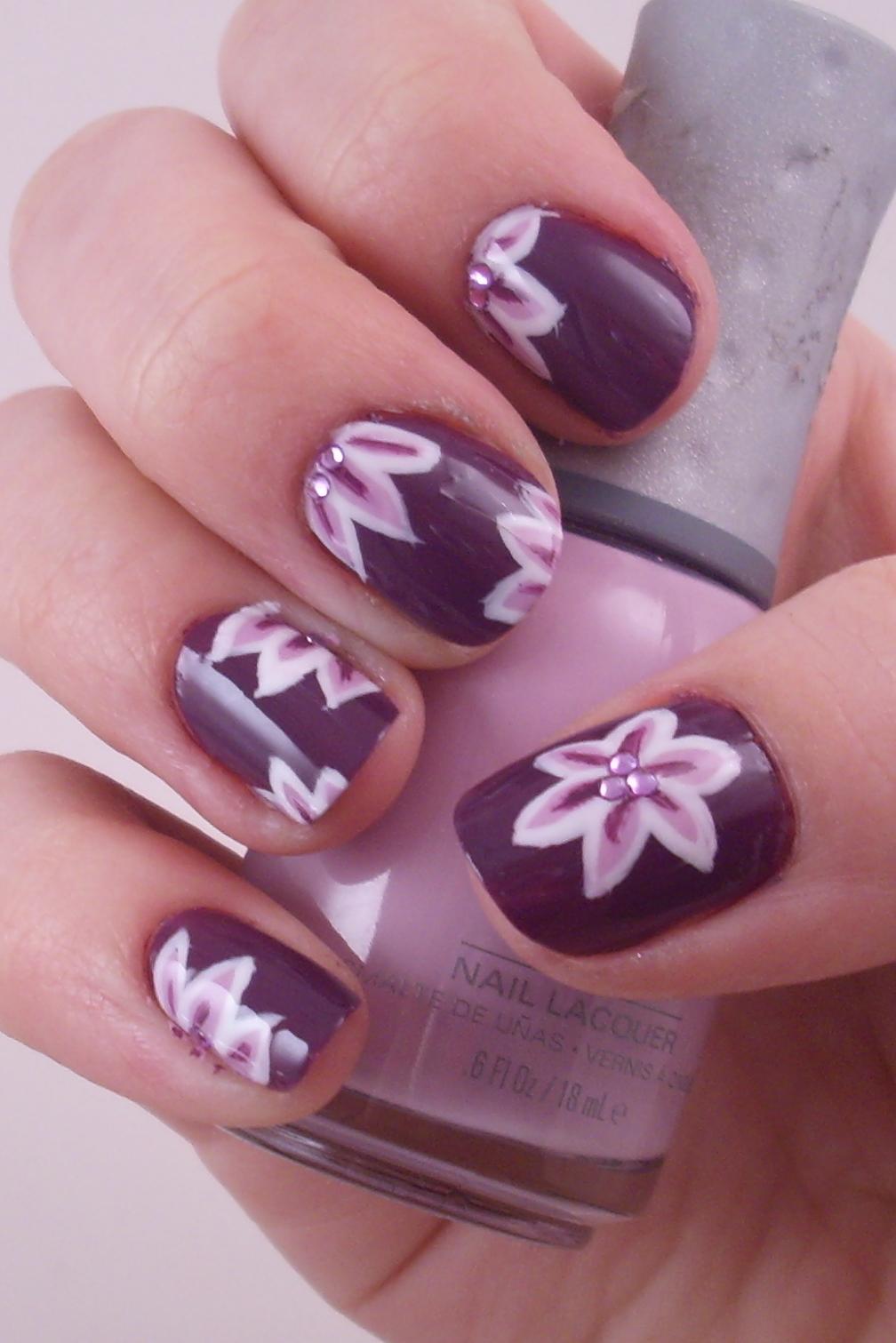 posted under nail wallpapers purple nail art designs purple nail art
