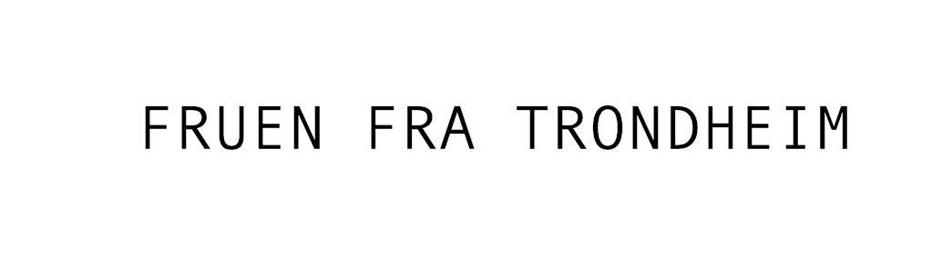 Fruen fra Trondheim