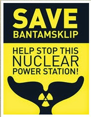 Sign the petition against the nuclear Power station at Bantamsklip