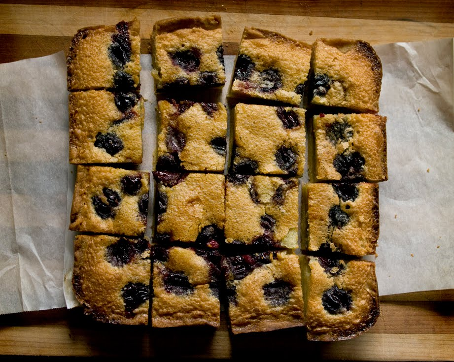 Specials For Today:: Cherry Brown Butter Bars