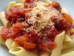 Receita de Espaguete ao molho de tomate