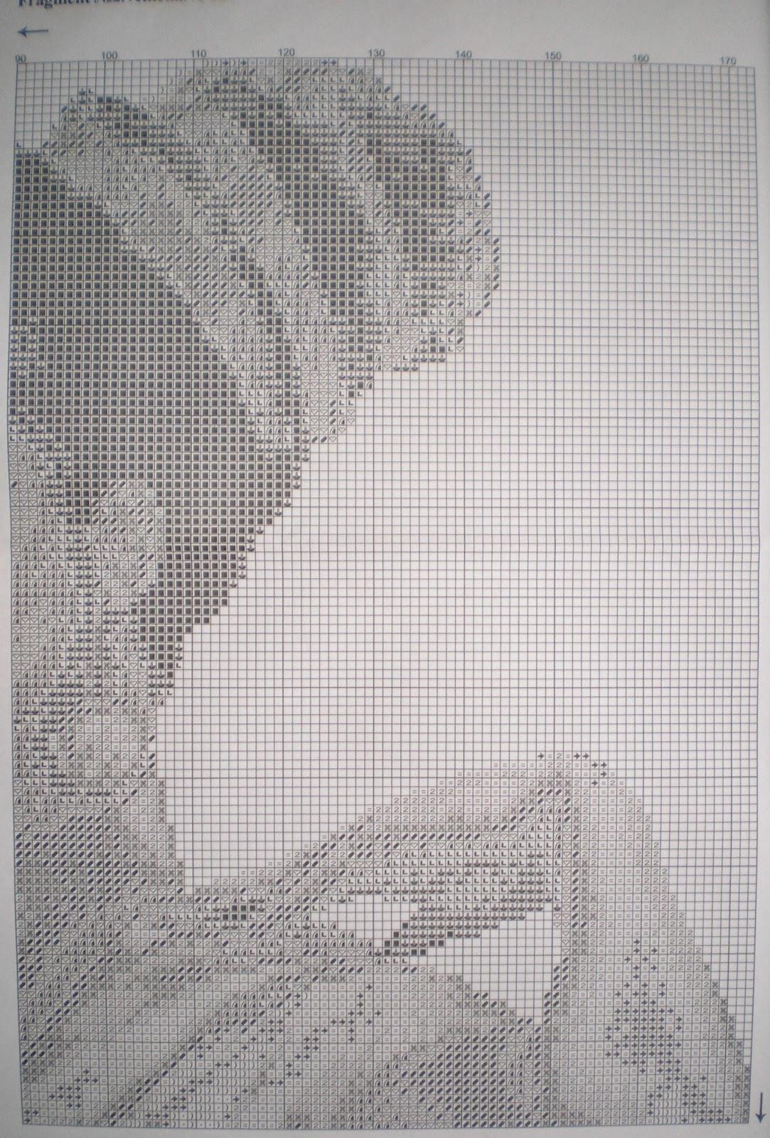 Вышивка крестом схемы голден ките