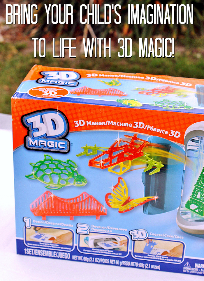 Bring your child's drawings and creations to life in 3D models with 3D Magic Maker.