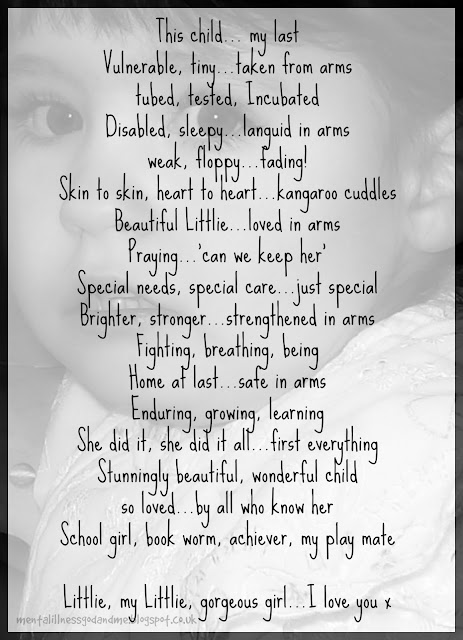 This Child. Special Needs. Poem