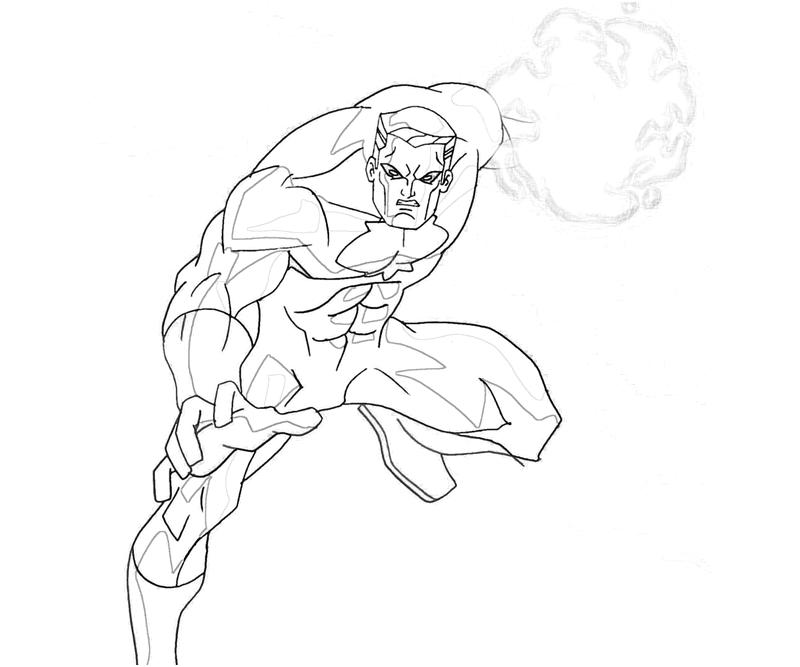 printable-dc-universe-captain-atom-weaknesses-coloring-pages
