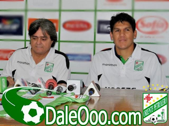 Oriente Petrolero - Jose Ernesto Álvarez - Richard Estigarribia - DaleOoo.com sitio del Club Oriente Petrolero