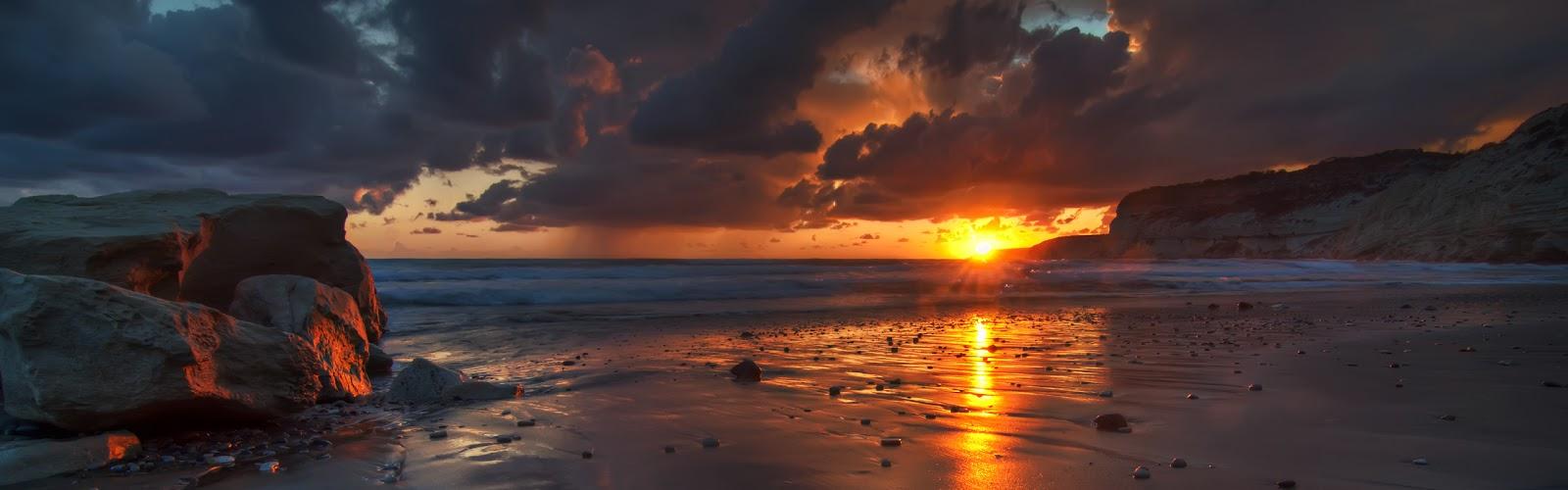 Hi Def Beach Sunset