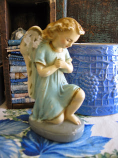 old plaster angel