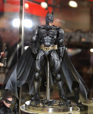 Square Enix Play Arts 2013 Toy Fair Display - The Dark Knight Rises Batman figure