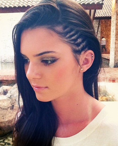 Kendall-Jenner-Cornrows-Hairstyles