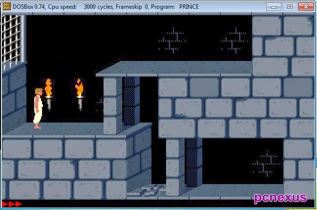 prince dos game on windows 7/8