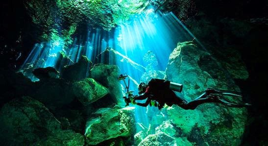 Cenote Angelita México
