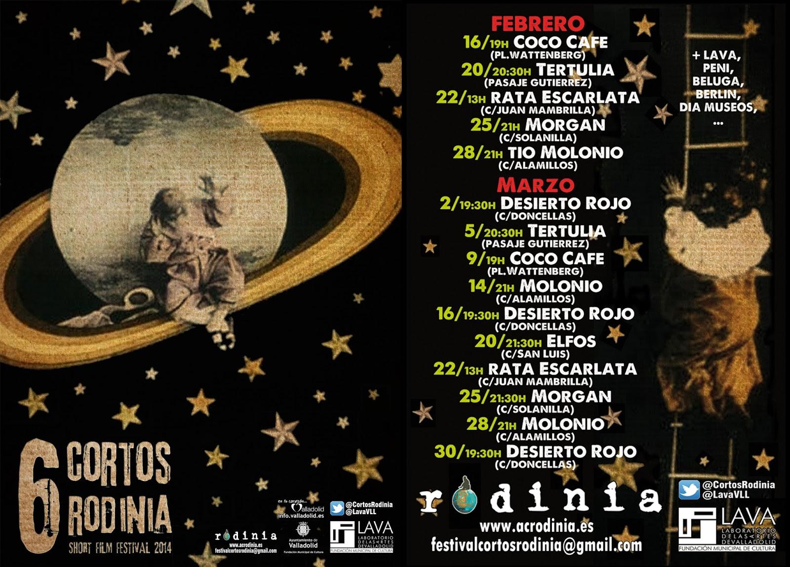 Festival Cortos Rodinia - Avance