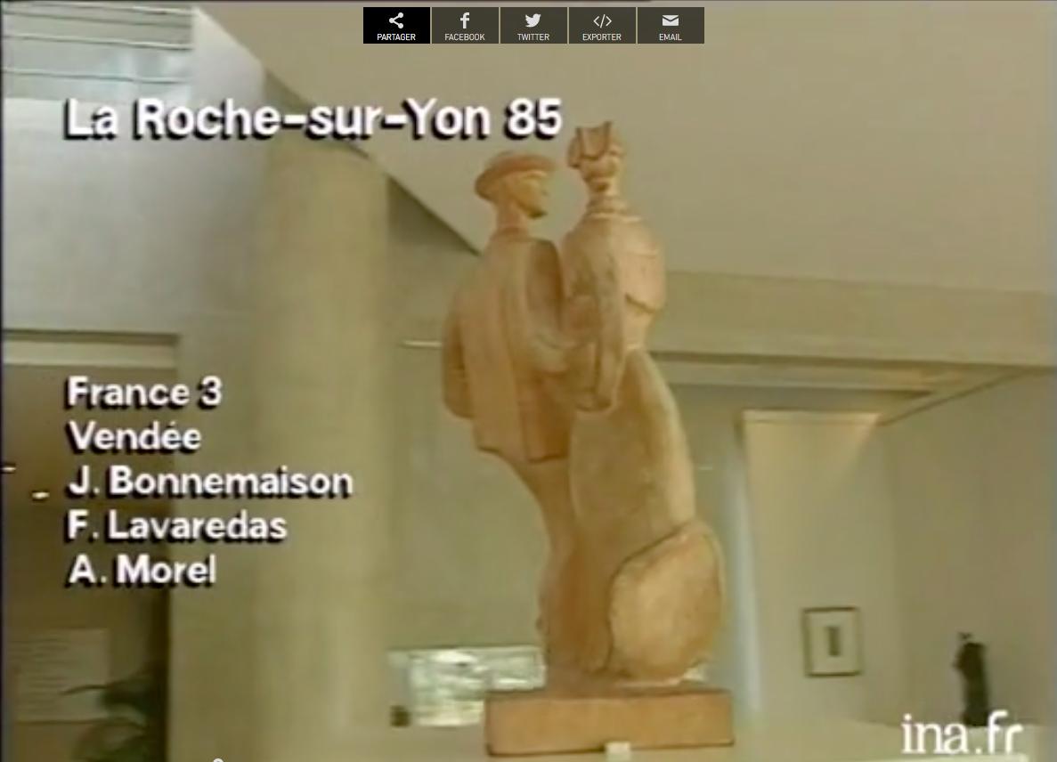 Exposition à la Roche sur Yon