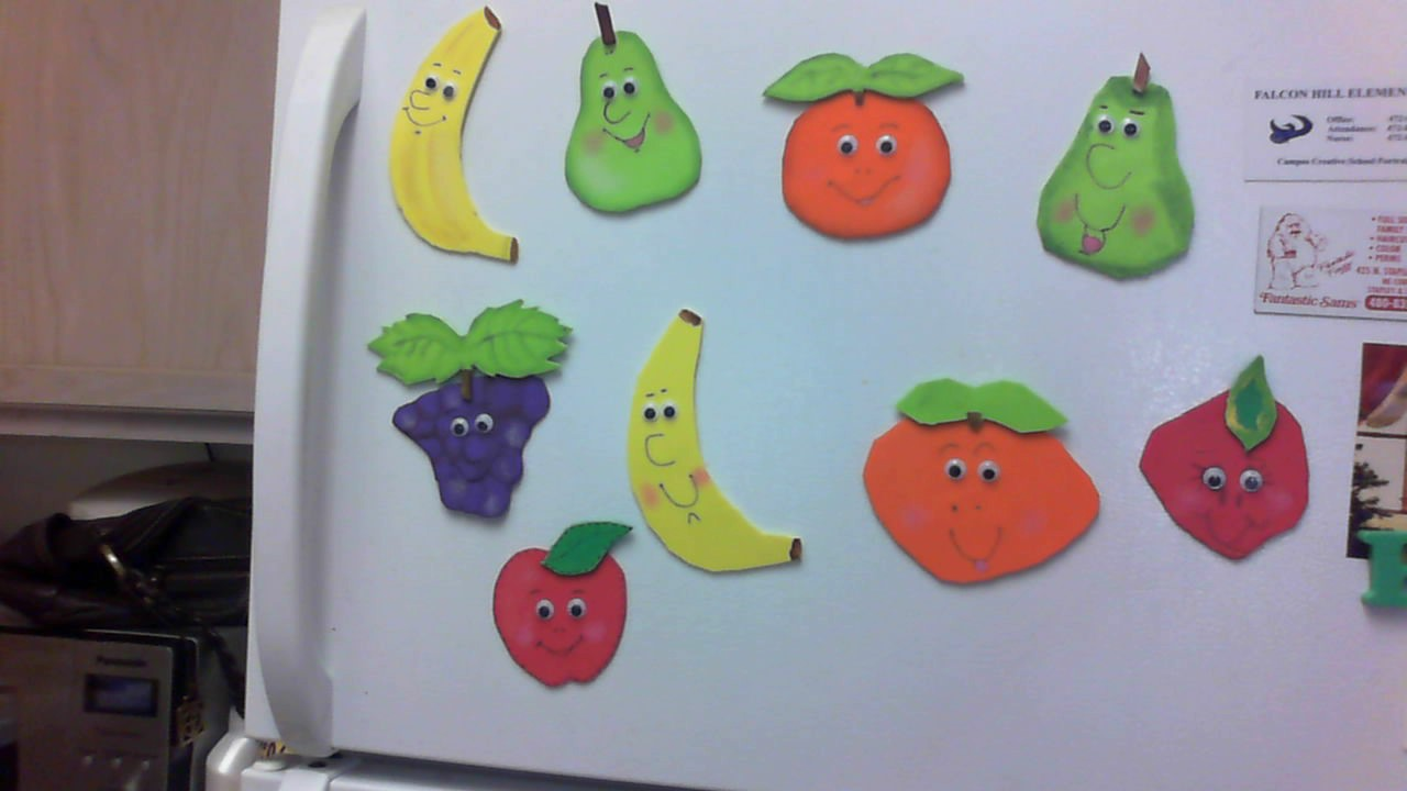 Frutas En Foamy