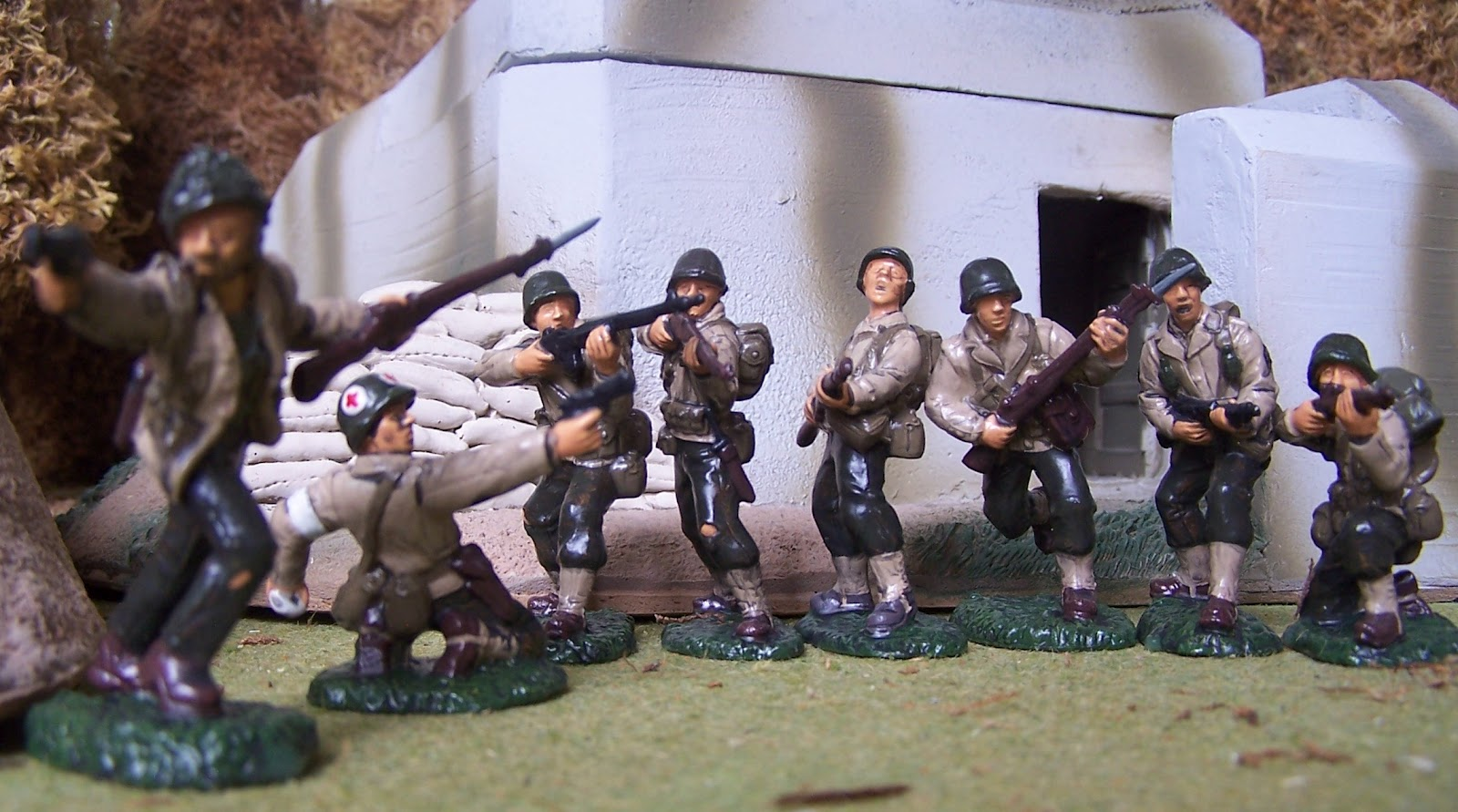 WWII Plastic Toy Soldiers: November 2012