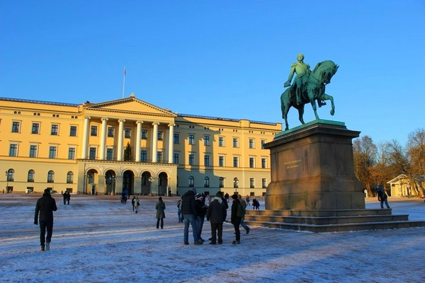 Pałac Królewski w Oslo