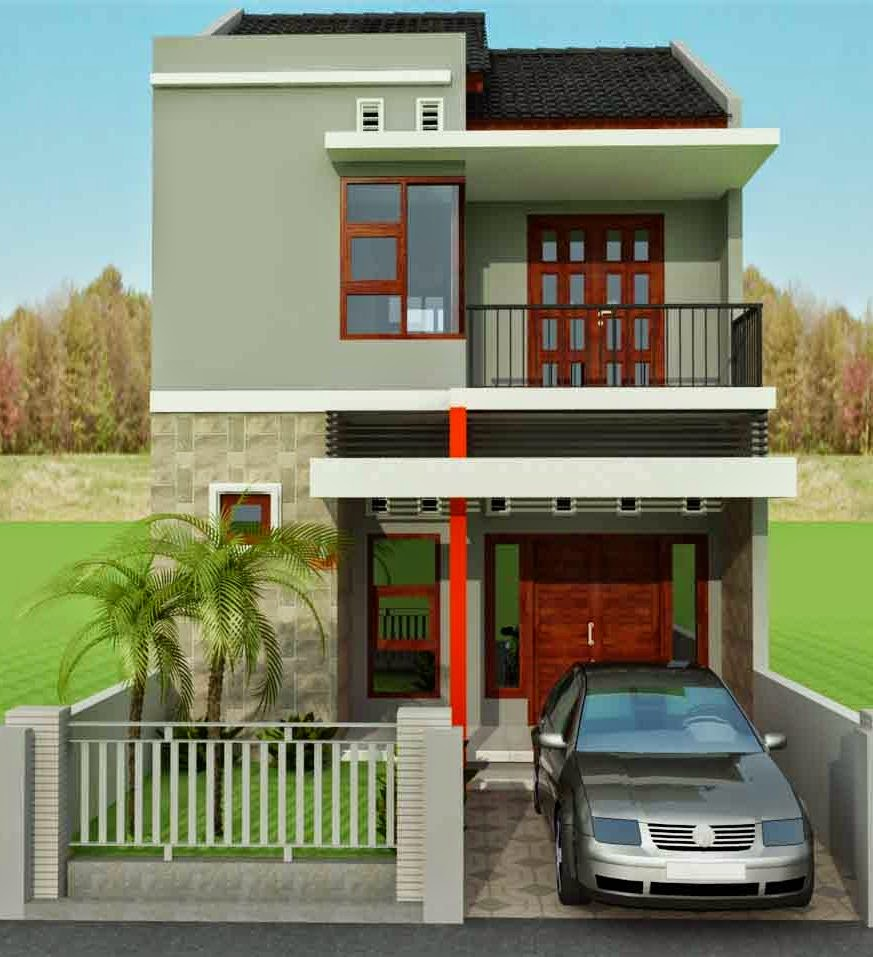 Desain Rumah Minimalis 2 Lantai Tahun 2014