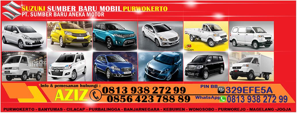 Dealer Suzuki Mobil Purwokerto Purbalingga Cilacap Banjarnegara Kebumen Wonosobo