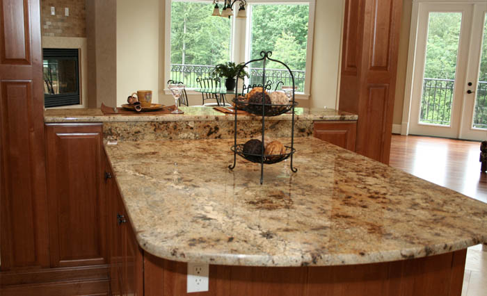 Kitchen Granit Tile Modern Design