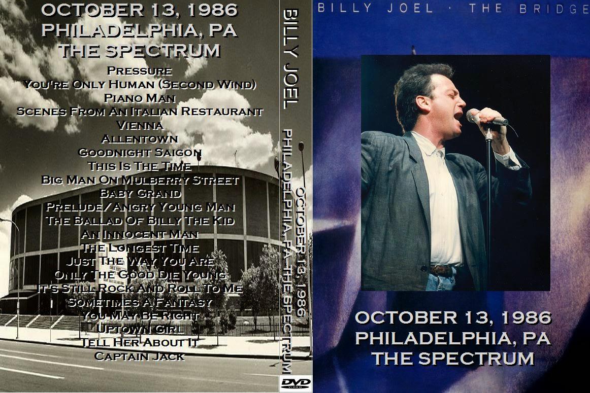 Billy joel 1986 10 13 philadelphia pa dvdfull pro shot