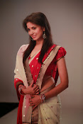 Supriya Shailaja Photos in saree-thumbnail-2