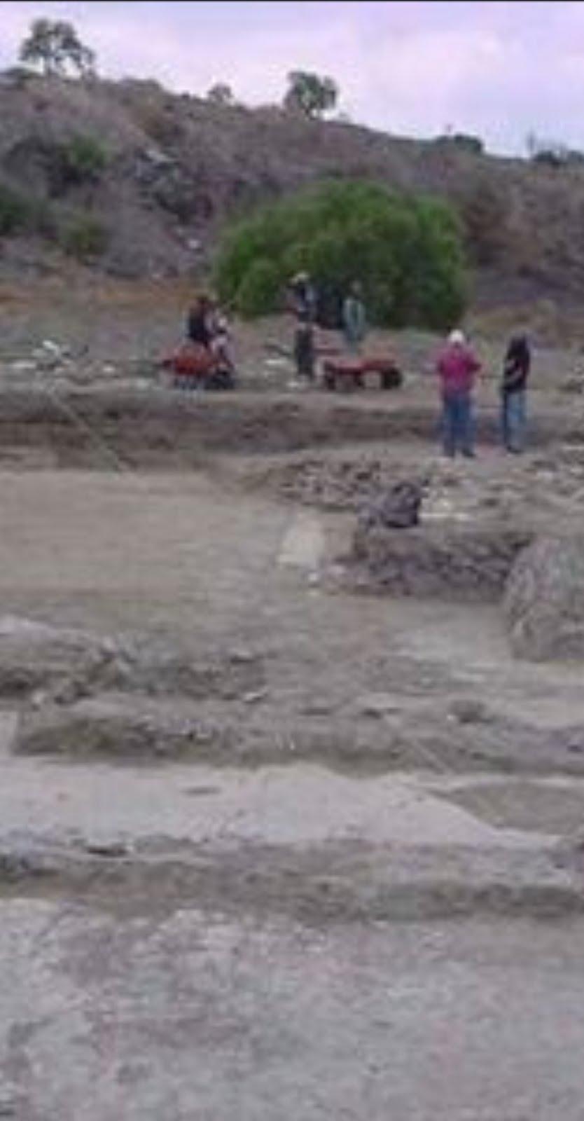 Descubren murales prehispánicos en Xico